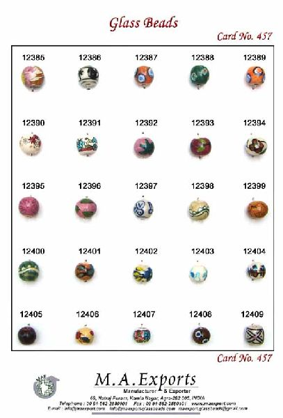 Round Shape Ceramic Beads