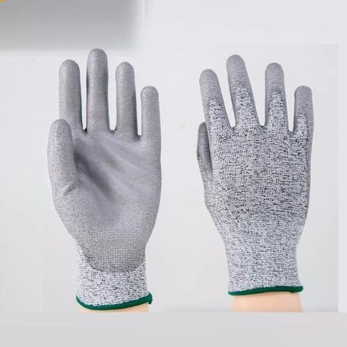PU Palm Tip Coated Gloves