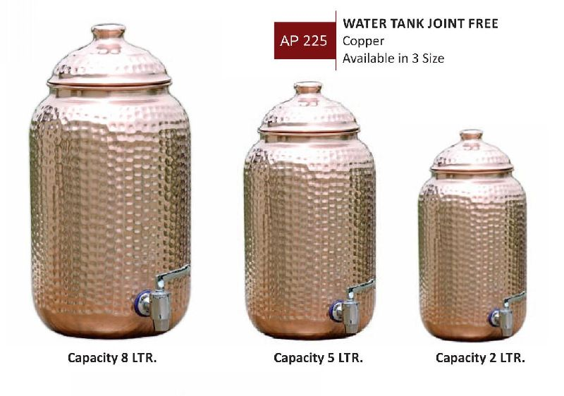 COPPER WATER TANK