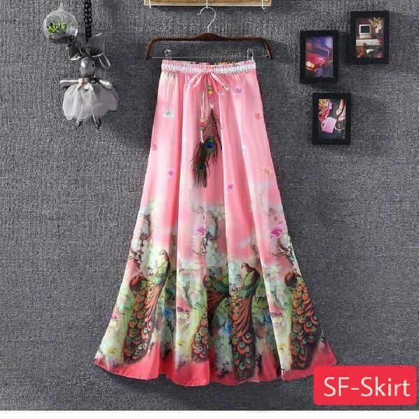 Ladies Pink Skirt