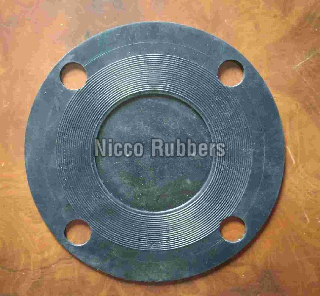 Round Rubber Flanges