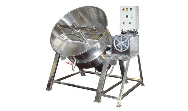 Steam Tilting Khoya Making Machine