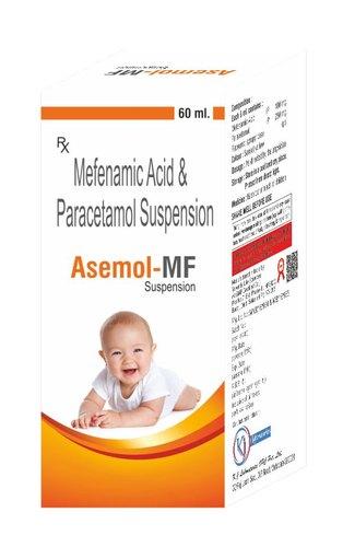 Mefenamic Acid and Paracetamol Suspension