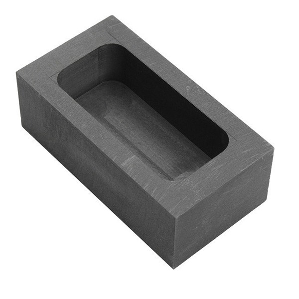 Gold & Silver Carbon Graphite Crucible