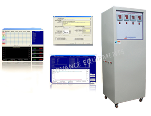 Hydrostatic Pipe Pressure Testing Panel