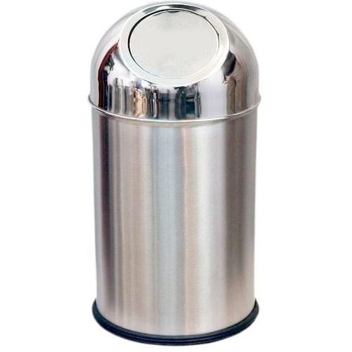 Stainless Steel Deluxe Dustbin