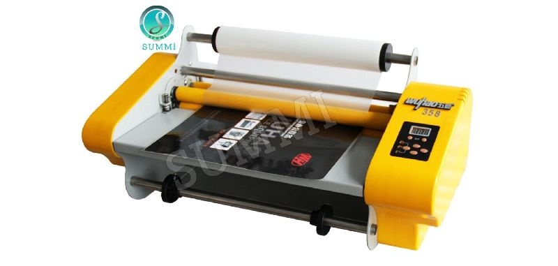 S385 Roll To Roll Thermal Lamination Machine