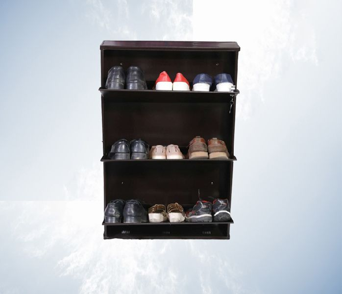 Shoe Rack 26 Inch 3 Step