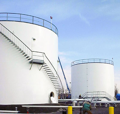 Aviation Fuel Storage Tank