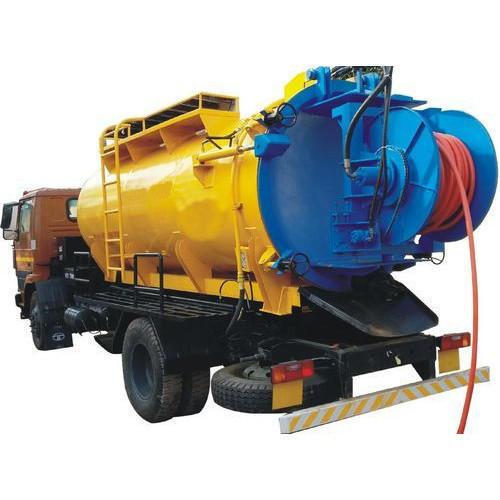 Truck Mounted Sewer Suction cum Jetting Machine