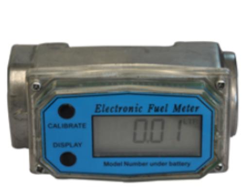 Turbine Type Digital Battery Oprated Flow Meter
