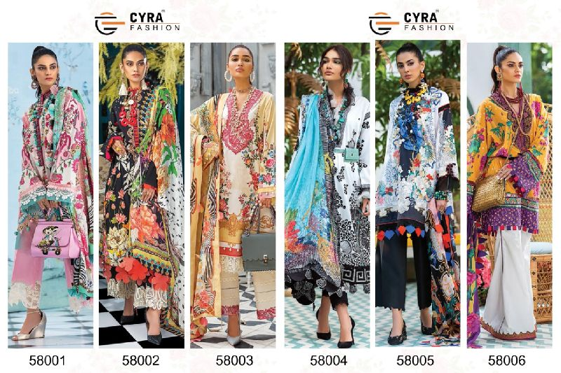 Cyra Fashion Alizah Vol 4 Jam Cotton with Patch Embroidery