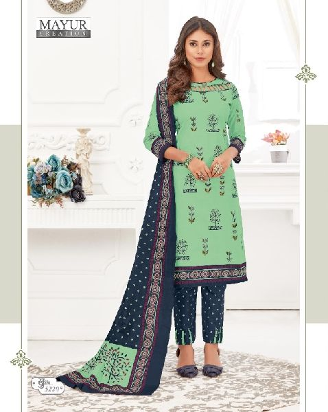 Mayur Khushi Vol 52 Cotton Printed Dress Material