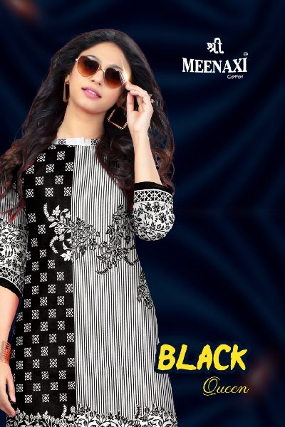 Shree Meenaxi Cotton Black Queen Collection