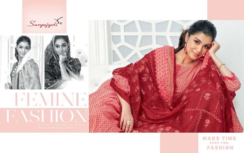 Suryajyoti Trendy Cotton Vol 47 Collection