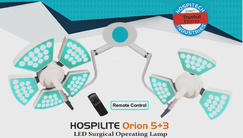 Hospilite Orion 5+3 Ceiling LED Operation Theatre Light