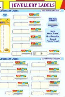 Jewellery Label
