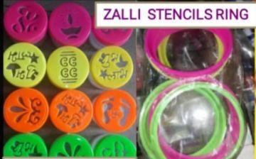 Rangoli Zalli Ring Stencils