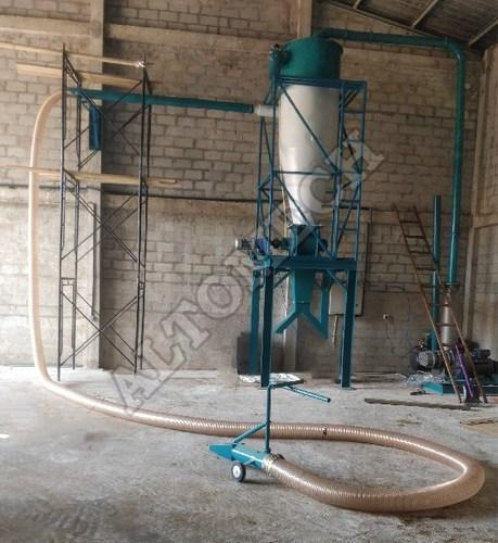 Grain Unloading Pneumatic Conveyor