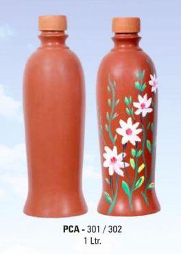 PCA 301-302 1 Ltr Terracotta Water Bottle