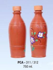PCA 311-312 750ml Terracotta Water Bottle