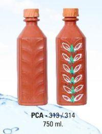 PCA 313-314 750ml Terracotta Water Bottle