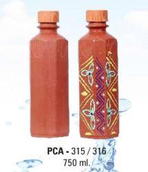 PCA 315-316 750ml Terracotta Water Bottle