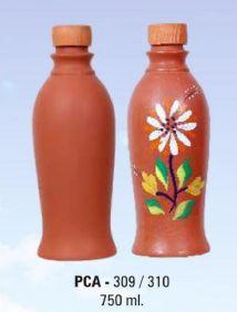 PCA 390-310 750ml Terracotta Water Bottle
