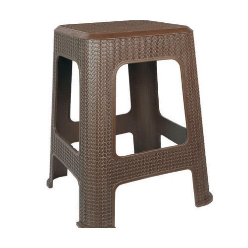 Brown Plastic Seating Stool