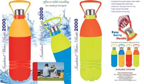 Plastic Insulated Bottle