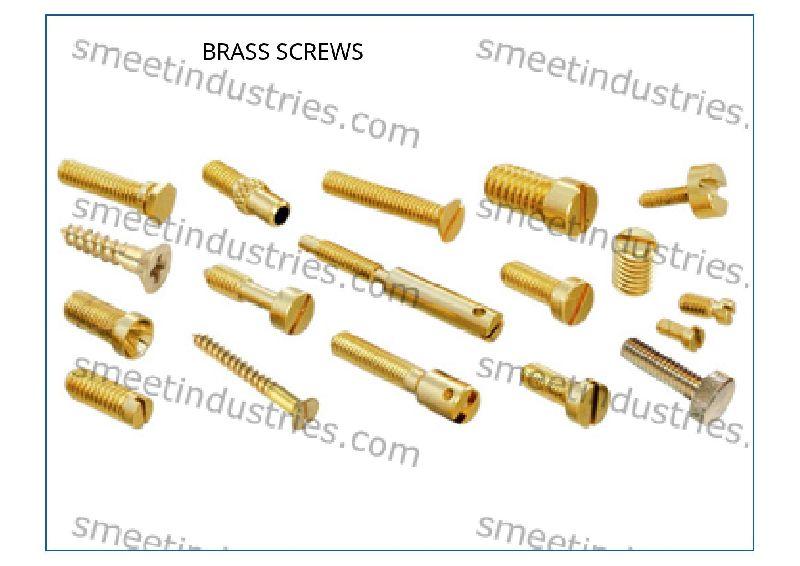Brass Round Screws
