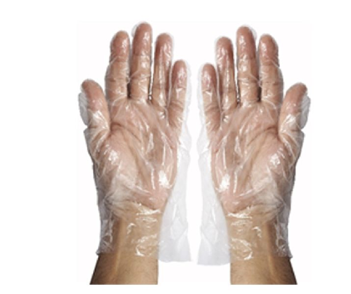 Disposable Polyethylene Examination Gloves