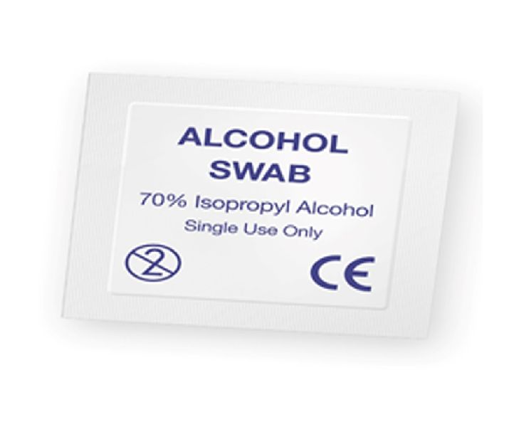 Pre Injection Alcohol Swab
