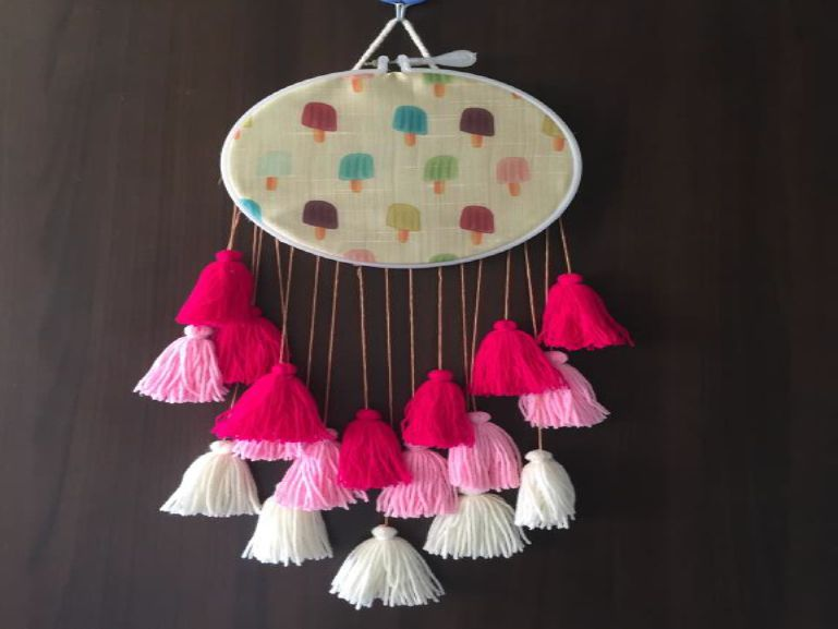 Candy PinkWall Hanging