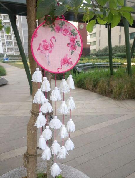 Flamingo Cream Wall Hanging