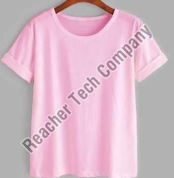 Women Plain T-Shirt