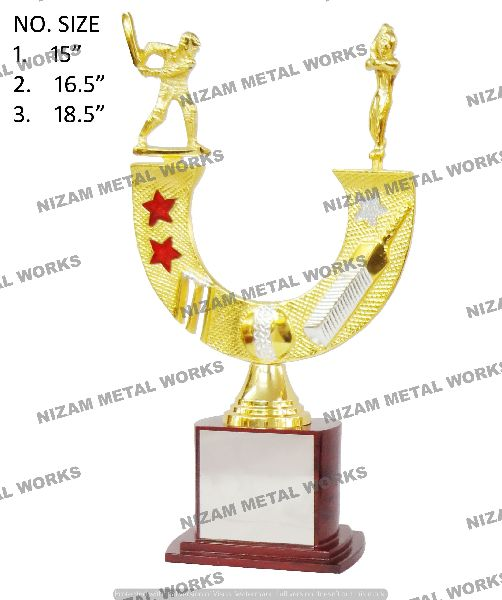 All Rounder Cricket Trophy