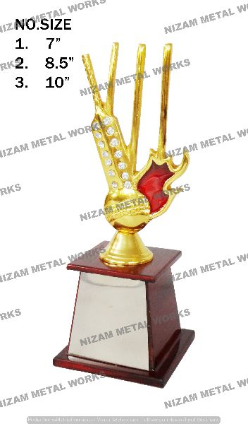 Mini Cricket Trophy