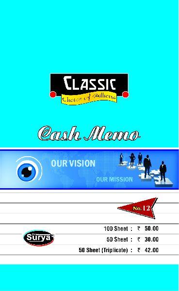 Big Cash Memo Book