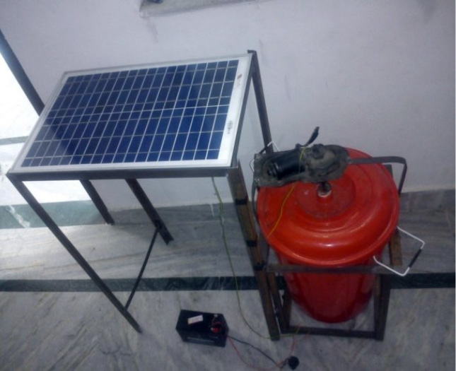 Portable Solar Dryer