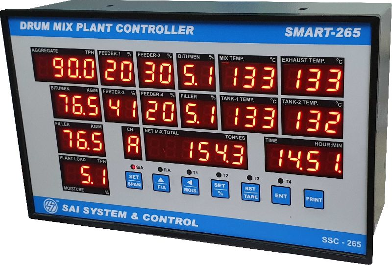 Drum Mix Plant Controller