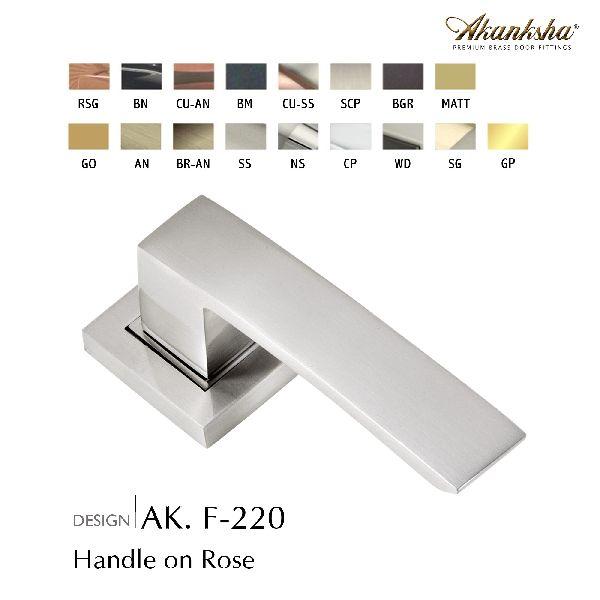 F-220 Brass Door Handle