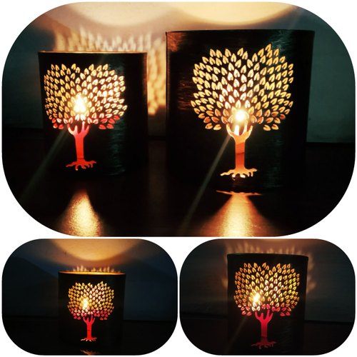 Metal Tea Light Votive