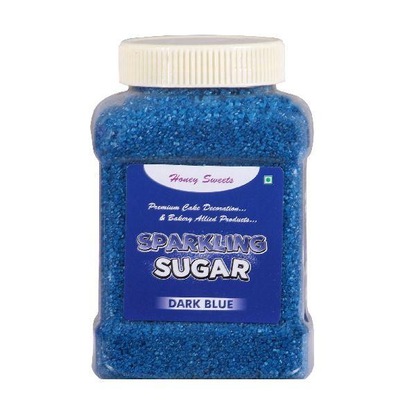 Dark Blue Sparkling Sugar