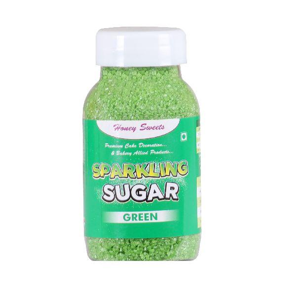 Green Sparkling Sugar