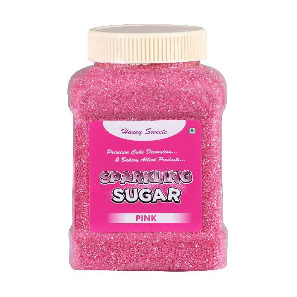 Pink Sparkling Sugar