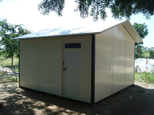 PVC Prefabricated Huts