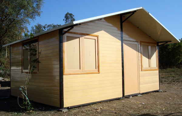 Wooden Prefabricated Huts