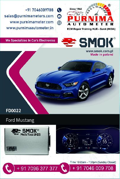 FD0022 Ford Mustang, Lincoln 2018 OBD