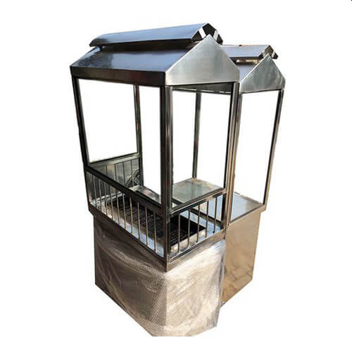 Stainless Steel Barbecue Counter